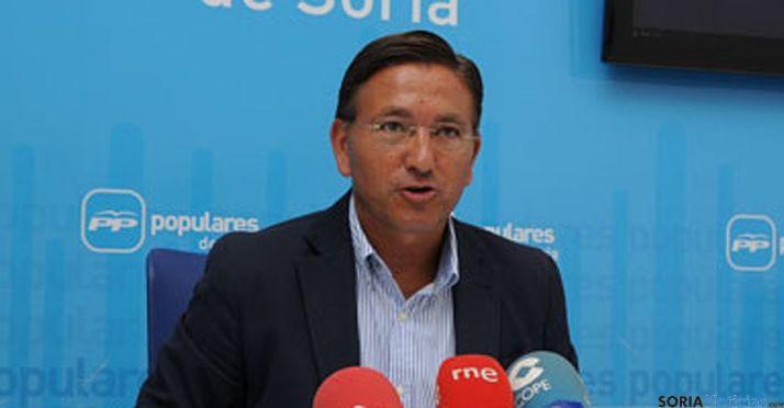 El candidato al Senado por el PP, Gerardo Martínez. / SN