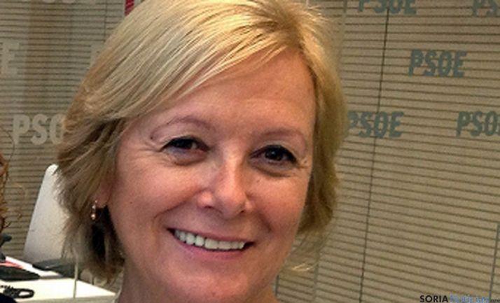 María Irigoyen, candidata al Senado por Soria.