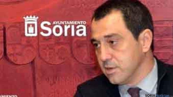 El concejal de Hacienda, Javier Muñoz.