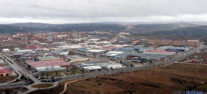 Vista aérea del polígono de Las Casas, en la capital. / SN