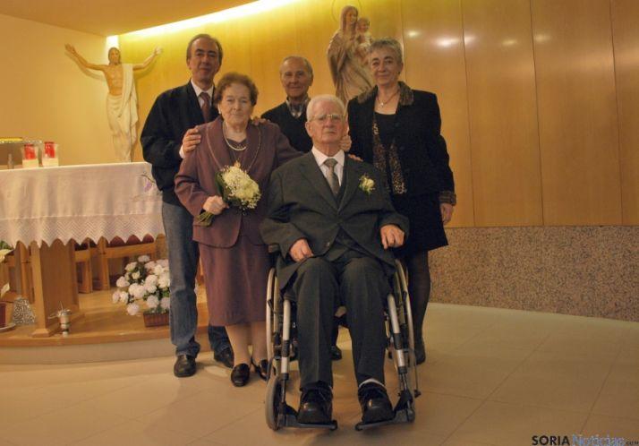 El matrimonio, en primer término./SN