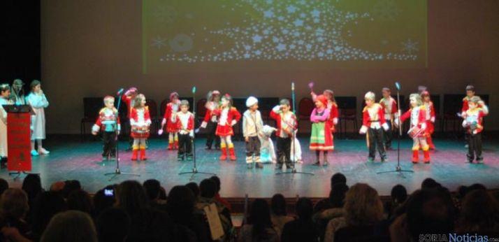 Festival navideño en las navidades de 2014