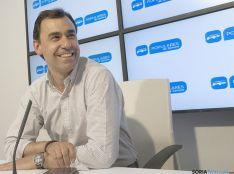 Martínez Maillo, de campaña en Soria