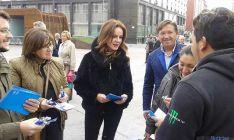 Clemente participa en la campaña del PP de Soria.