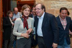 Herrera cierra el acto central de la campaña del PP de Soria.