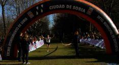 Antón, en la entrada a meta este domingo en La Dehesa. / SN