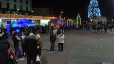 Imagen de la plaza soriana avanzada la tarde de este viernes. / SN