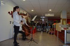 La música ha entrado en el hospital Santa Bárbara.