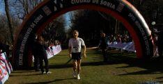 Imagen de la jornada de atletismo este domingo en la Alameda Cervantes. / SN