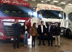 Visita del PP a Transportes De Pedro.