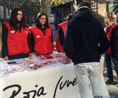 Voluntarios de Cruz Roja./CRS