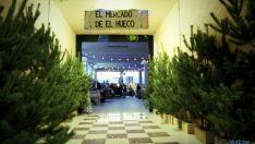 Una imagen del mercado navideño.