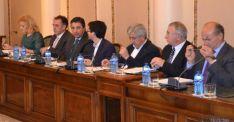 Diputados del PP en el pleno de Diputación
