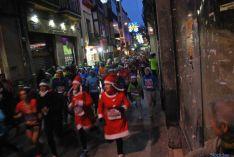 Imagen de la carrera navideña de este sábado. / SN