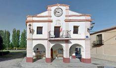 Casa consistorial de Valdenebro./GM