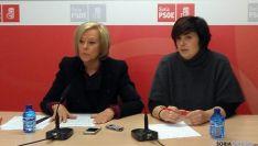 María Irigoyen y Ana Alegre, del PSOE.