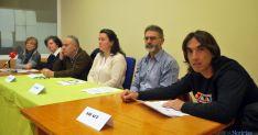 Representantes de los colectivos redactores del manifiesto. / SN