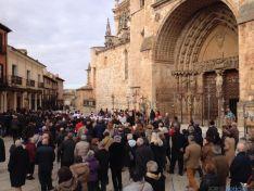 Apertura de la Puerta Santa en El Burgo