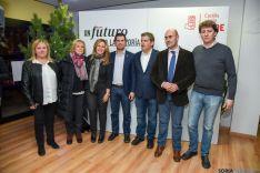 Imagen del mitin del PSOE este miércoles en Soria.