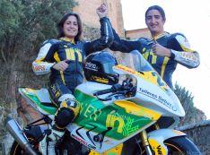Cristina Juarranz y Aurelio Hernández.