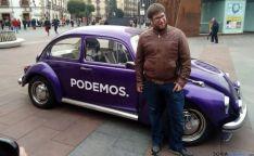 Miguel Urban, este viernes en Granados.