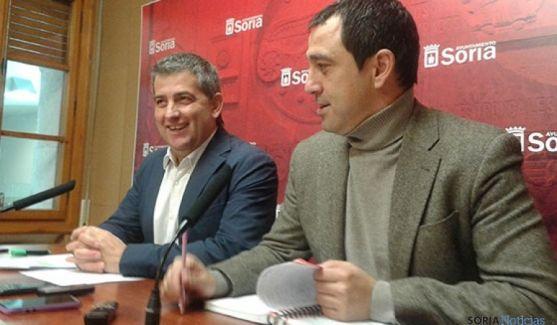 Javier Antón y Javier Muñoz
