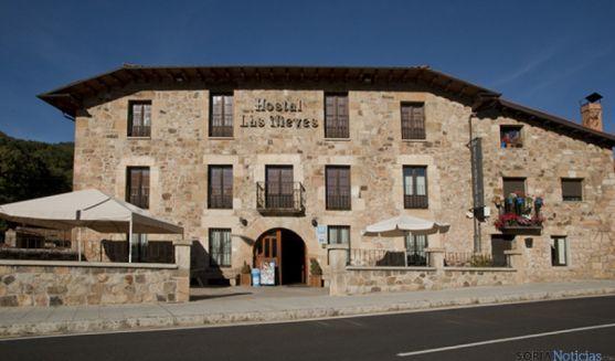Hosta rural en la comarca de Pinares