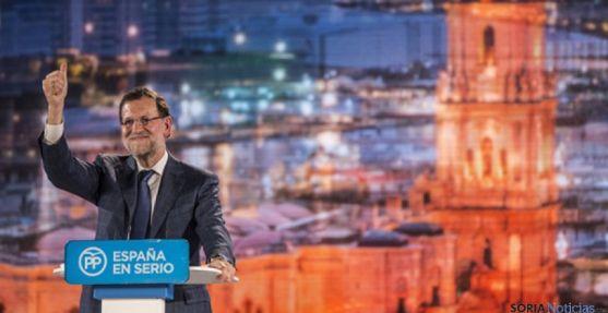 Mariano Rajoy es uno de los lideres que no hará campaña en Soria