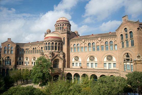 Hospital de Santa Creu y Sant Pau, en Barcelona.