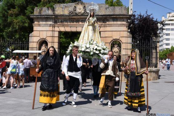 Desfile del Domingo de Calderas de 2015.