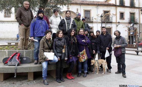 Representantes de las asociaciones integradas en el proyecto.
