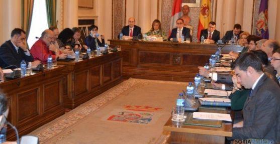 Pleno de la Diputación de Soria del 3 de diciembre