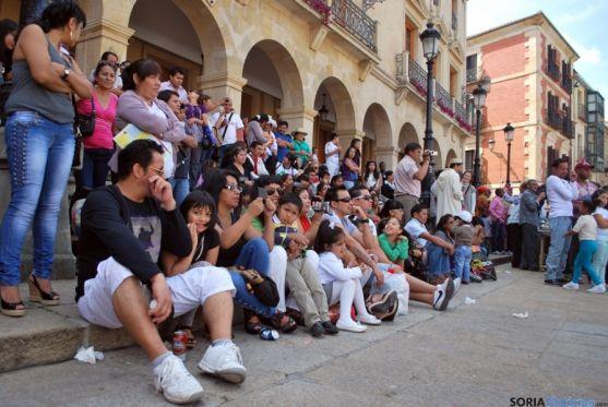 Jornadas multiculturales en Soria en una imagen de archivo. / SN