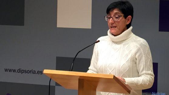 La diputada de asuntos sociales Pilar Delgado. / Dip.