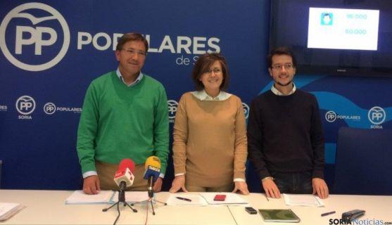 Candidatos al Senado por el PP de Soria