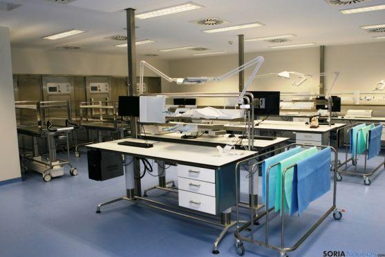 Unidad de esterilización del Clínico