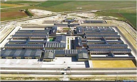 Imagen aérea del centro penitenciario.