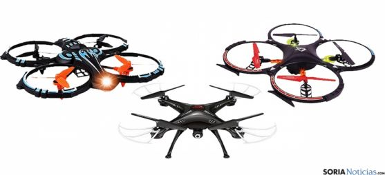 Un modelo de dron, juguete protagonista de los regalos navideños.