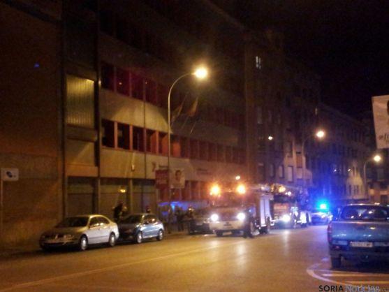 Bomberos, en la calle Benito