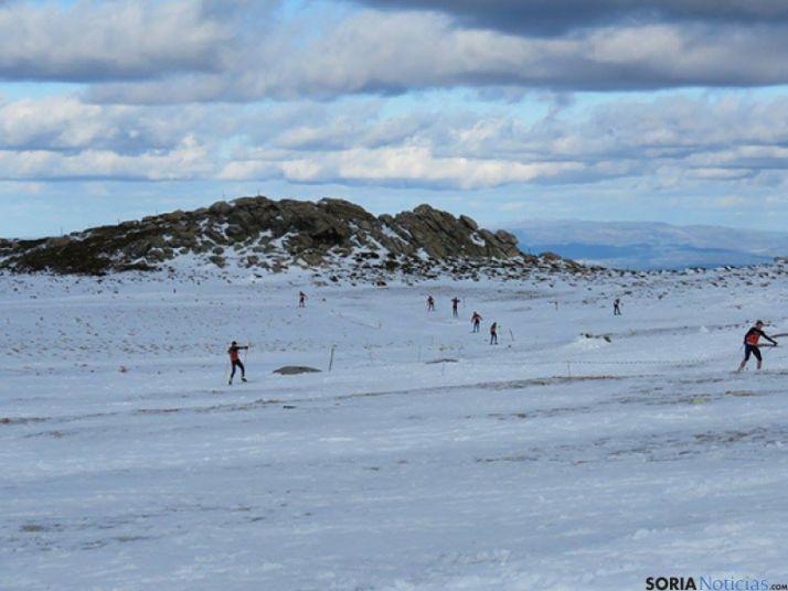 El triatlón de invierno, una disciplina deportiva al alza.