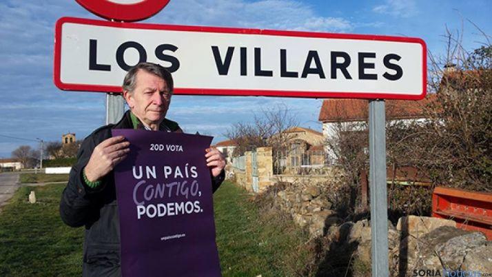 Carmelo Romero, candidato al Congreso por Podemos Soria