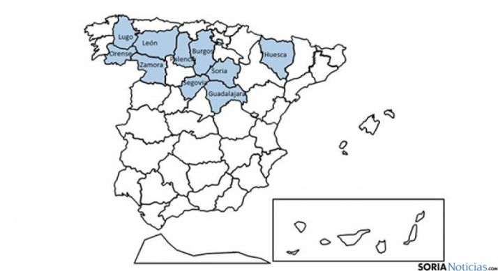 Soria está entre las provincias con mayor siniestralidad en las carreteras.