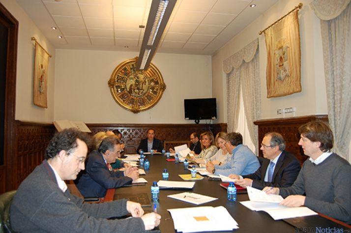 Reunión del Patronato de la Uned de Soria.