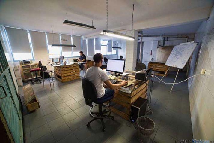 El Hueco es el punto de encuentro de los emprendedores de Soria.