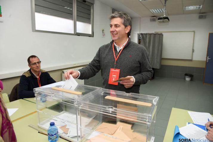 Foto 2 - Antón (PSOE) pide que resultado electoral sea positivo para Soria