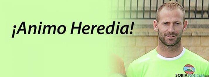 El guardameta Jonathan Heredia se recupera de su grave lesión