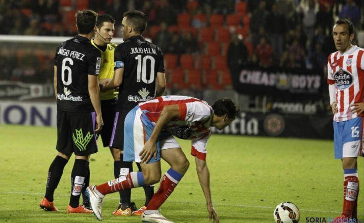 Julio Álvarez podría regresar frente al Lugo.