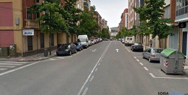 Avenida de Valladolid en la capital soriana en una imagen de archivo. / GM