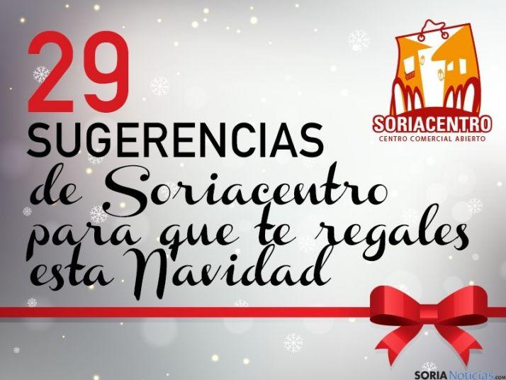29 sugerencias de Soriacentro para que te regales esta Navidad