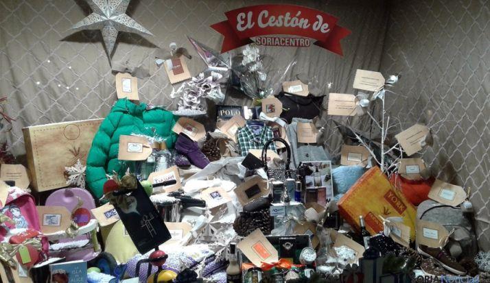El 'Cestón' expuesto en La Llave.